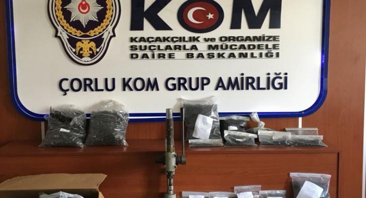 POLİSLİ ÇETEYE POLİSTEN BÜYÜK OPERASYON