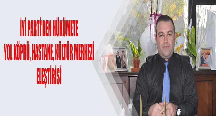 'Hükümet Süleymanpaşa'yı unuttu'