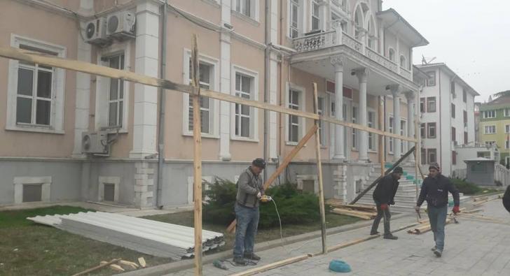TARİHİ BİNADA RESTORASYON BAŞLADI