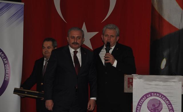 SAMİ KAYIN'DAN ŞENTOP ONURUNA YEMEK