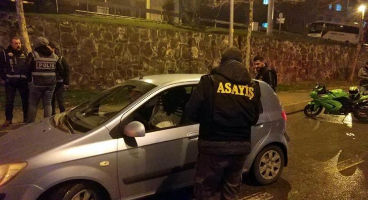 POLİS NİSANDA DA BOŞ DURMADI