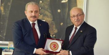 ŞENTOP'TAN ALBAYRAK'A ZİYARET