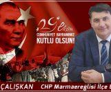 TOLGA ÇALIŞKAN'DAN CUMHURİYET KUTLAMASI