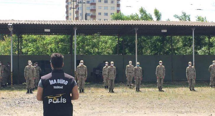 POLİSTEN ASKERE İHA EĞİTİMİ